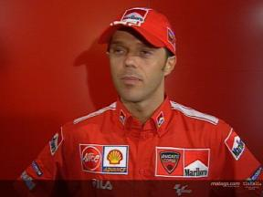 Interview de Loris Capirossi