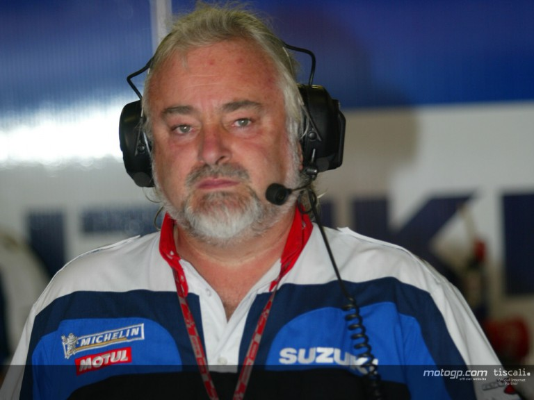 Garry Taylor Team Manager Suzuki