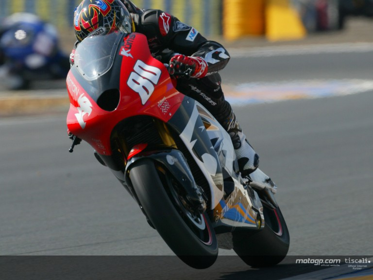 Roberts kurtis action Le Mans