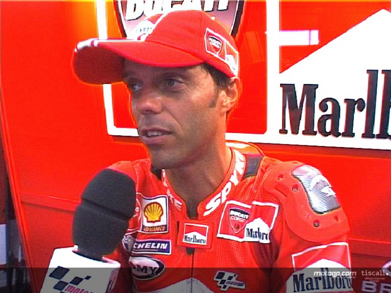 Loris Capirossi looks back on 100 MotoGP starts