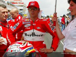 A century of premier-class starts for Loris Capirossi