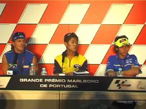 Qualifying Press Conference at Estoril