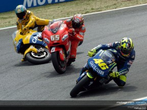 Biaggi - Capirossi crash 2 Estoril