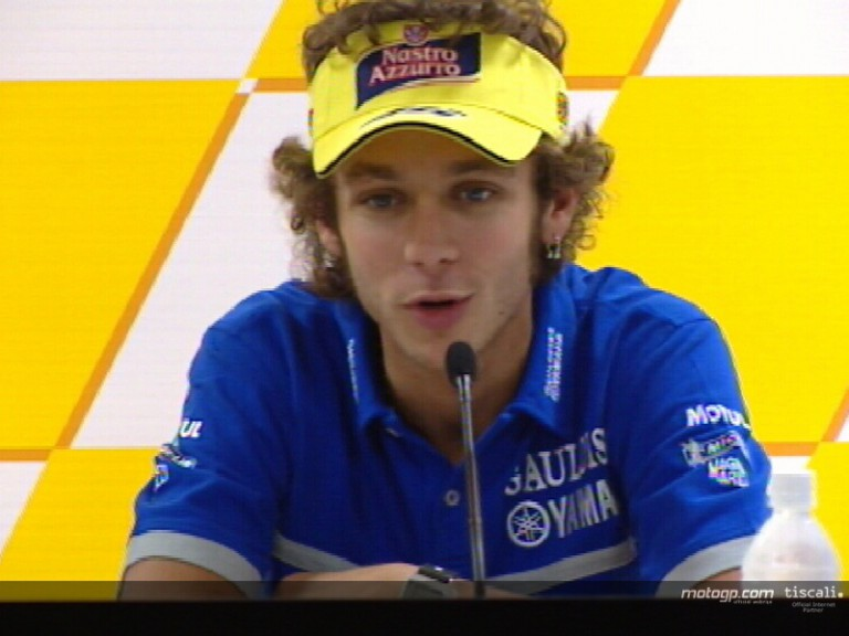 Valentino Rossi pre-event interview - motegi