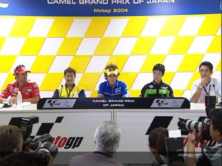 Pre Event Press Conference at Motegi