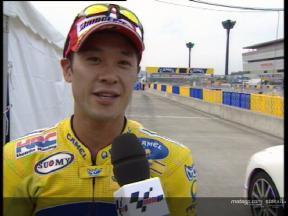 Interview de Makoto Tamada