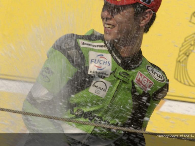 Nakano podium Motegi 2004 b
