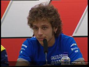 Valentino Rossi pre-event interview - Qatar