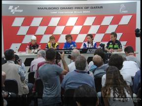 Pre-Event Press conference at Qatar