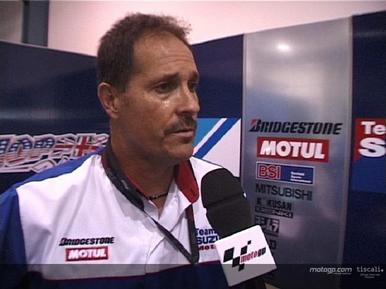 Dean Miller keeping Team Suzuki fresh in Qatar