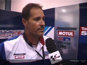 Dean Miller hält das Team Suzuki in Qatar frisch