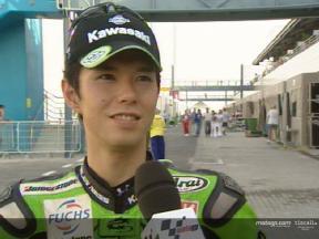公式予選2: 中野真矢 インタビュー