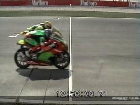 Foto finish 125cc Qatar (Lorenzo-Dovizioso)