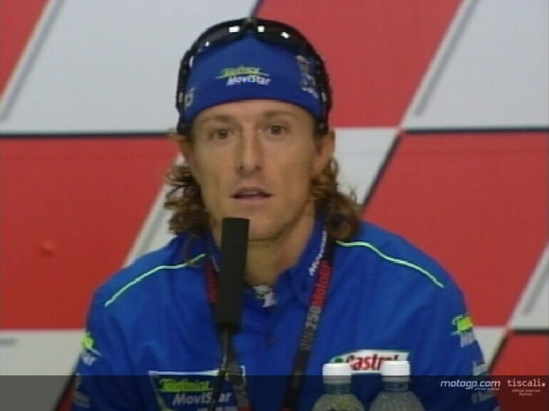 Sete Gibernau pre-event interview - Sepang