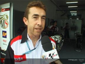 McCoy back in the MotoGP paddock - Interview