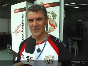 Lucchi interview on his return to 250cc action