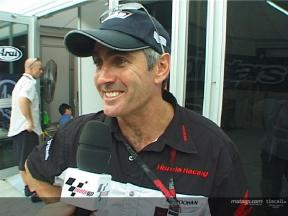 Mick Doohan reflects on the final qualifying session at Sepang