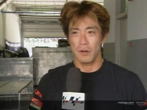 Naoki Matsudo interview after the race