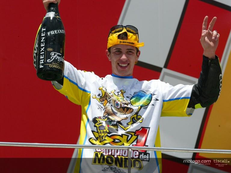 Dovizioso podium