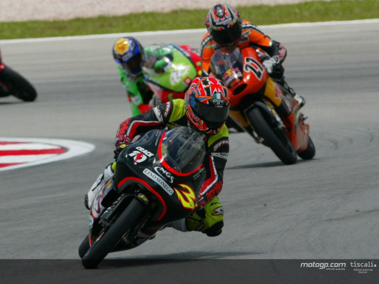 Barbera action Sepang
