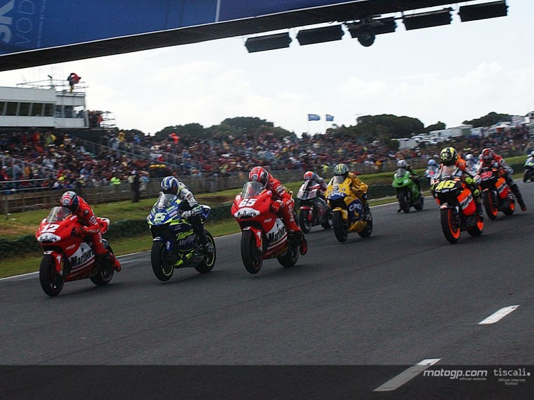 Group MotoGp Phillip Island