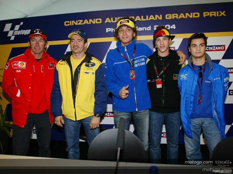 Pre-Event Press conferece at Phillip Island