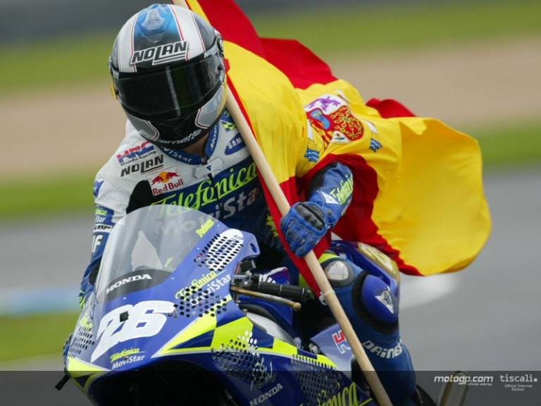 Daniel Pedrosa - 2004 World Champion Video