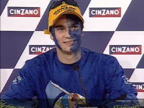 Daniel Pedrosa interview after the race