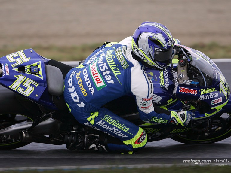Gibernau action