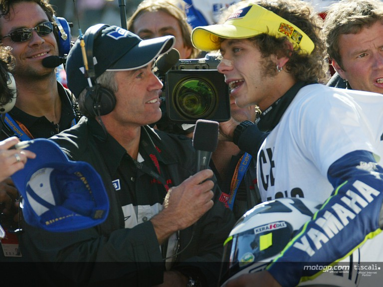 Rossi post race