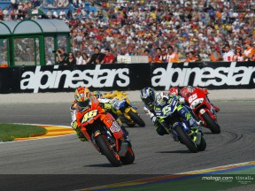 Group MotoGP Valencia 2003