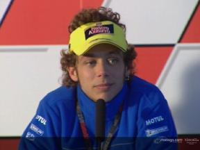 Valentino Rossi pre-event interview - Valencia