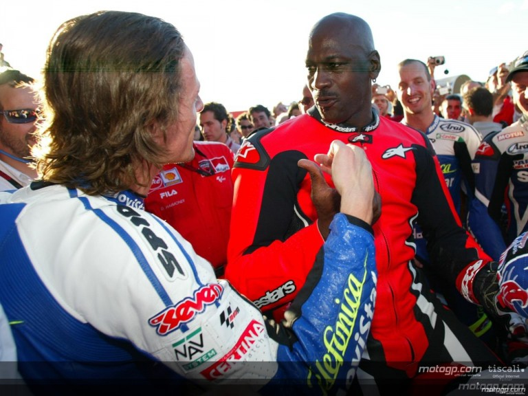 Michael Jordan\\\\\\\'s day to remember in MotoGP
