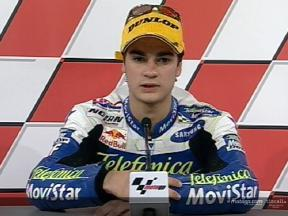 Interview de Daniel Pedrosa apres course