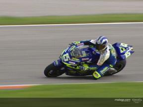 Sete Gibernau - Test at Valencia