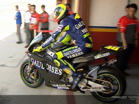 Valentino Rossi - Test at Valencia