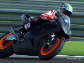 Max Biaggi - Test at Valencia