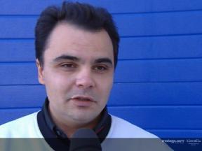 Luca Montiron intervier at Jerez test