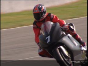 Carlos Checa test at Jerez