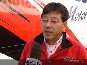 Entrevista a Hiroshi Yamada en el test de Jerez