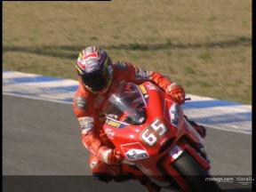 Loris Capirossi test at Jerez circuit