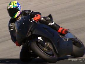 Troy Bayliss test at Jerez Circuit