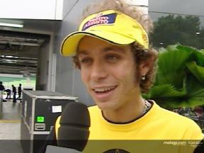 Valentino Rossi Interview nach dem Sepang test