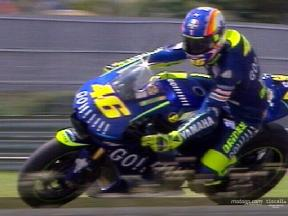 Valentino Rossi test at Sepang circuit