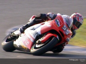 Regis Laconi test at Jerez Circuit
