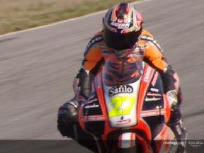 Test de Casey Stoner en el circuito de Jerez