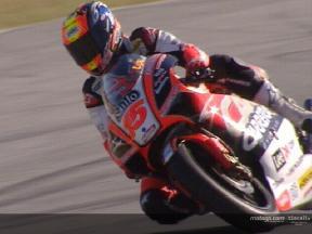 Test de Roberto Locatelli en el circuito de Jerez