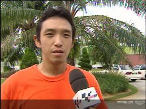 Entrevista a Nobuatsu Aoki depois da Sepang test