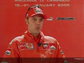 Loris Capirossi Interview in Madonna di Campiglio