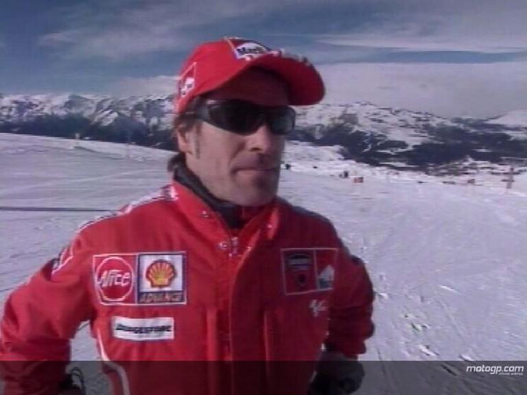 Carlos Checa interview at the Ducati presentation